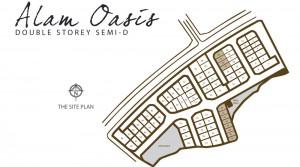 Alam Oasis DSSD Modern Design - Site Plan
