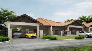 D' Heritage Phase 2 Single Storey Semi Detached