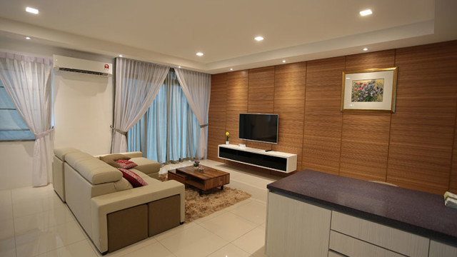 Rivervale Condo Type A: Living room