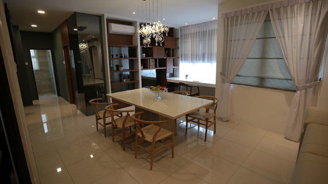 Rivervale Condo Type A: Dining room