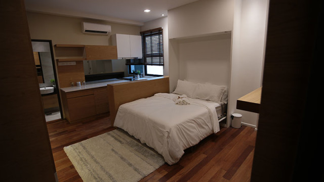 Rivervale Condo Type B: Dual key room