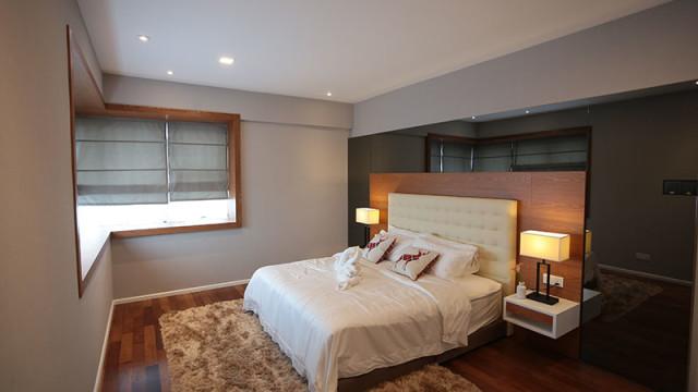 Rivervale Condo Type B: Master bedroom