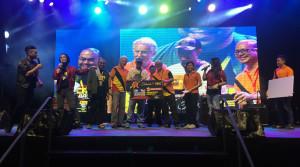 Record crowds throng  to Bandar Samariang celebration
