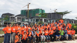 Property employees support Mother Earth