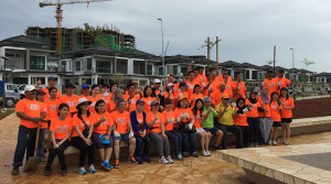 Tree Planting at Rivervale Residences