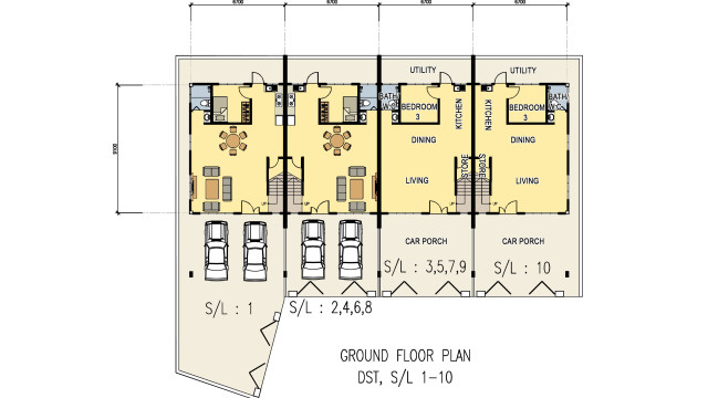 DST Ground floor Plan