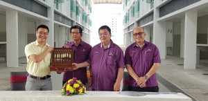 CMS Land hands over keys to UCSI
