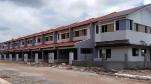 Alam Impian 9A Double Storey Terrace (DST) Front view of DST SL60-41