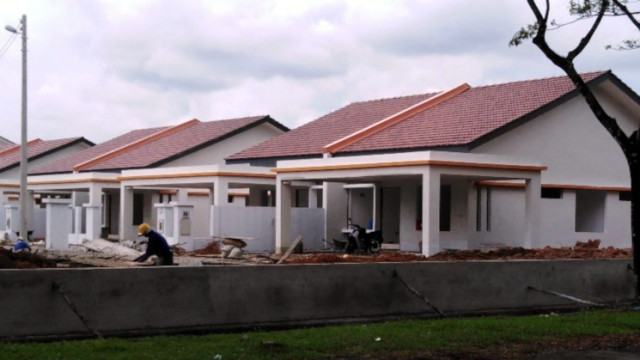 Alam Impian 9A Single Storey Terrace (DST) - Front view of SSSD SL 29-34