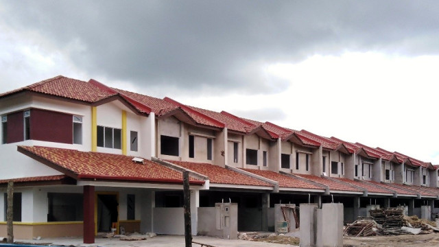 Alam Impian Phase 9B Double Storey Terraced (DST) - Front view of SL1-10