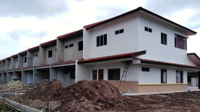 Alam Impian Phase 9B Double Storey Terraced (DST) - Rear view of SL1-10