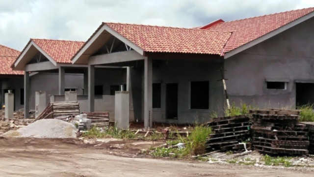 Alam Impian Phase 9B Single Storey Semi Detached - Front view of SSSD SL14-11