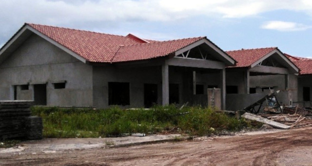 Alam Impian Phase 9B Single Storey Semi Detached - Front view of SSSD SL15-26