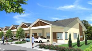 Alam Impian Phase 9C Single Storey Terraced (SST)
