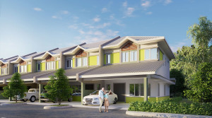 Alam Impian Phase 9D Double Storey Terraced (DST)